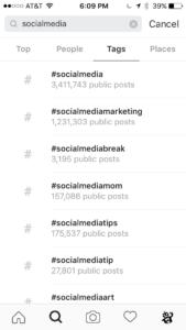 quali sono i migliori hashtag per instagram