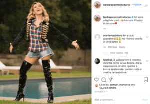 Barbara d'urso Instagram 1