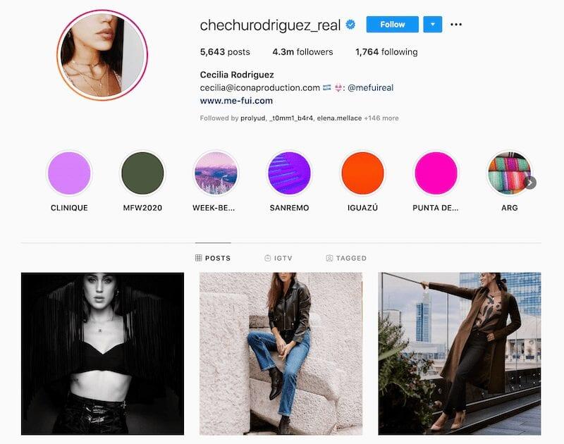 Cecilia Rodriguez Instagram - amori e passioni
