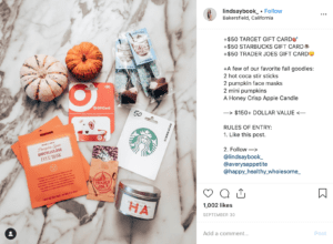 Giveaway Instagram come funziona 3