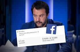 facebook matteo salvini