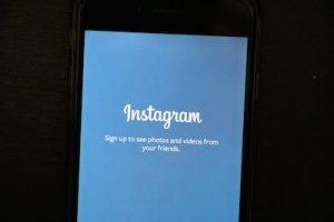 come si cancella un account Instagram