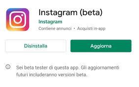 come faccio ad aggiornare instagram 4