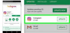 come si aggiorna instagram 3