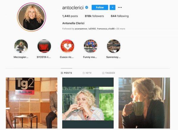 Antonella Clerici Instagram4