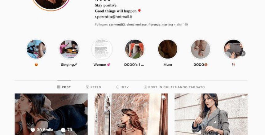 Rosa Perrotta Instagram