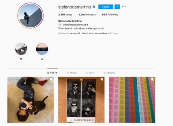 Stefano De Martino Instagram 5